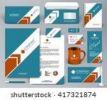professional universal branding ... | Shutterstock .eps vector #417321874