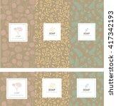 vector set of design elements...   Shutterstock .eps vector #417342193