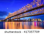 new orleans  louisiana  usa at... | Shutterstock . vector #417357709