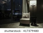 luxury lobby interior. | Shutterstock . vector #417379480