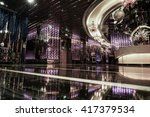 luxury lobby interior. | Shutterstock . vector #417379534