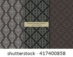 Vector Seamless Pattern. Set O...