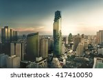 top view   modern building in... | Shutterstock . vector #417410050
