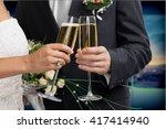 wedding. | Shutterstock . vector #417414940