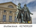 monument of the famous german... | Shutterstock . vector #417459109