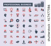 business icons    Shutterstock .eps vector #417477586