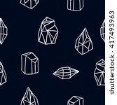 sacred geometry. alchemy ... | Shutterstock .eps vector #417493963