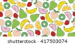 vector seamless pattern with...   Shutterstock .eps vector #417503074