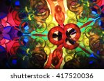 Color Kaleidoscope Texture As...