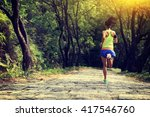 Young Fitness Woman Trail...
