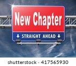 New Chapter  Start Fresh Over...