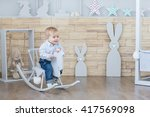 Cheerful Boy Toddler Baby...