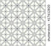 geometrical seamless pattern.... | Shutterstock .eps vector #417612820