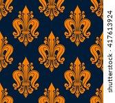 Vintage Fleur De Lis Pattern...