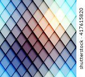 abstract seamless rhombus... | Shutterstock .eps vector #417615820