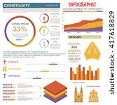 christianity religion... | Shutterstock .eps vector #417618829