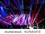 defocused entertainment concert ... | Shutterstock . vector #417641473