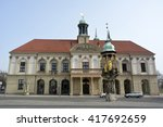 magdeburg  germany   april 3 ... | Shutterstock . vector #417692659