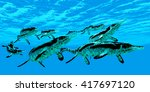 Cymbospondylus Marine Reptiles...