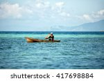 maiga samporna sabah malaysia   ... | Shutterstock . vector #417698884