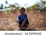 maiga samporna sabah malaysia   ... | Shutterstock . vector #417699430