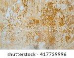 white concrete wall texture | Shutterstock . vector #417739996