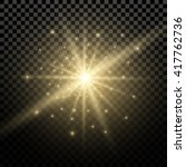 light flare special effect.... | Shutterstock .eps vector #417762736
