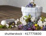 alternative medicine ...   Shutterstock . vector #417770830