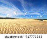 sand desert | Shutterstock . vector #417773386