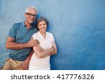 portrait of happy senior man...   Shutterstock . vector #417776326