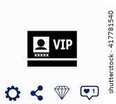 vip badge icon.