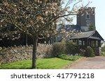 An Old Norman Church At...