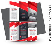 brochure design  business... | Shutterstock .eps vector #417797164