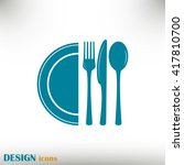 vector illustration sign with... | Shutterstock .eps vector #417810700