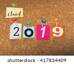 "the words ""class of 2019""... 