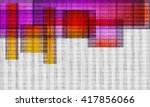 vector abstract background with ... | Shutterstock .eps vector #417856066