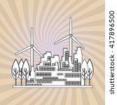 save world design  vector... | Shutterstock .eps vector #417896500