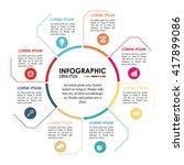 infographic icon design  ... | Shutterstock .eps vector #417899086
