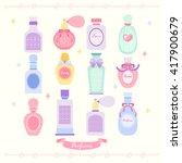 perfume vector design... | Shutterstock .eps vector #417900679