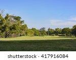 wachirabenchatat park  bangkok  ... | Shutterstock . vector #417916084