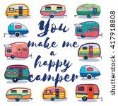 You Make Me A Happy Camper Car...