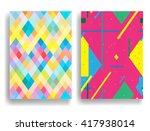 vector striped pattern | Shutterstock .eps vector #417938014