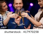 party  holidays  celebration ... | Shutterstock . vector #417970258
