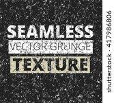seamless grunge pattern.... | Shutterstock .eps vector #417986806
