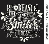 be the reason that someone... | Shutterstock .eps vector #417994180