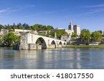 Saint Benezet Bridge And Palac...