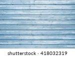 Vintage Soft Blue Wood Texture...