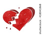 840 broken heart clip art free | Public domain vectors