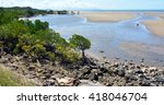 Landscape Of A Wild Beach On...