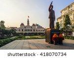 sai gon  vietnam   april 14  ... | Shutterstock . vector #418070734